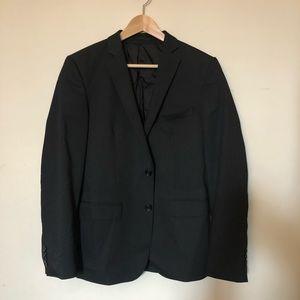 Zara 2 button black blazer 36